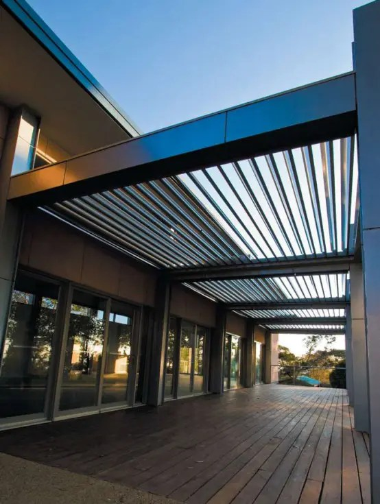 Cool Idea For Patio Opening Roofs By Louvretec DigsDigs