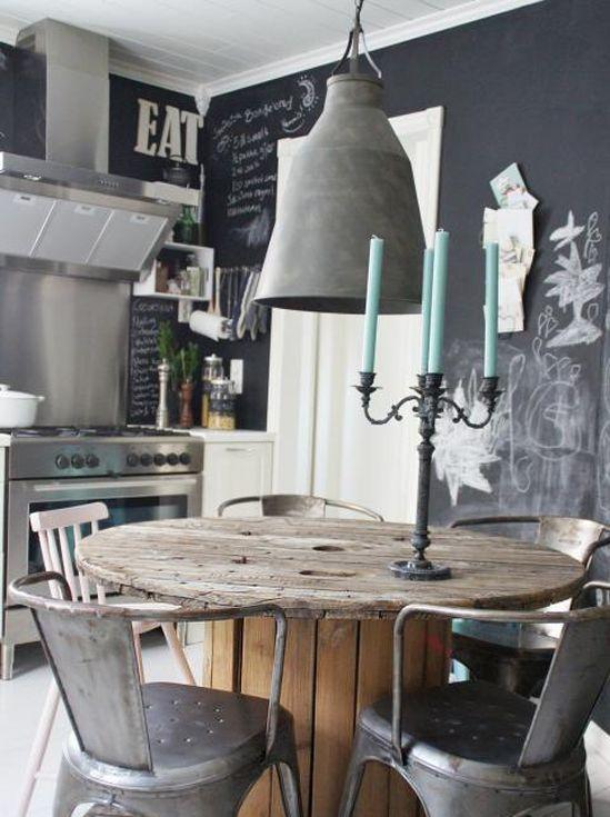 meuble cuisine en metal