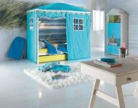Cool Kids Room Beds with Nice Tents by Life Time - DigsDigs