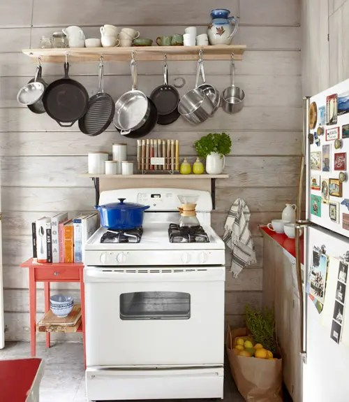 how to arrange pots and pans in kitchen decorative tile backsplash 56 useful storage ideas - digsdigs