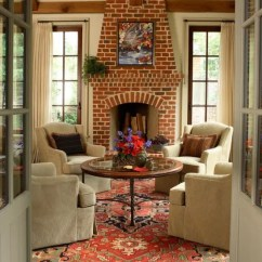 Small Living Room Ideas With Brick Fireplace Furniture Sets 59 Cool Rooms Walls Digsdigs