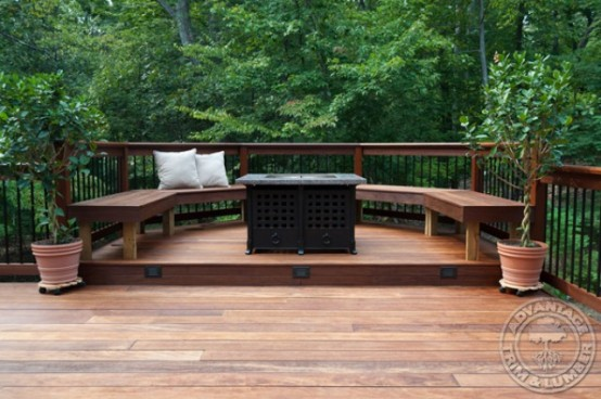ikea hanging chairs jessica charles 35 cool outdoor deck designs - digsdigs