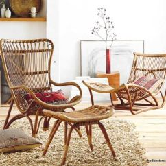 Bamboo Outdoor Chairs Chair Covers For Rent 34 Cool Rattan Furniture Pieces Indoors And Outdoors - Digsdigs
