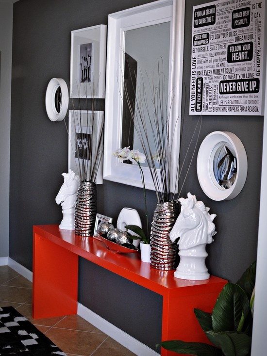 39 Cool Red And Grey Home Dcor Ideas  DigsDigs