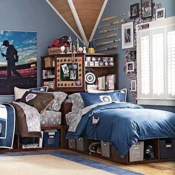 21 Cool Shared Teen Boy Rooms D 233 Cor Ideas Digsdigs
