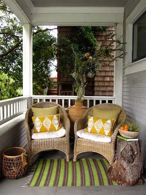 how to decorate a very narrow living room diy floating shelves 39 cool small front porch design ideas - digsdigs