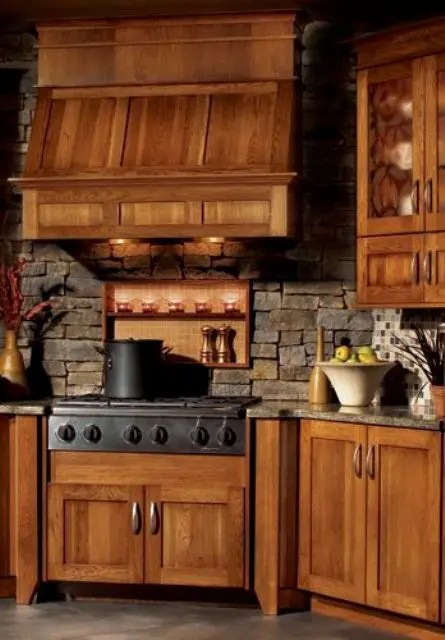 Kitchen Backsplash Rustic