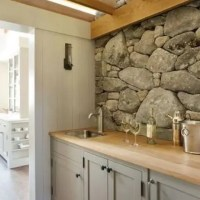 29 Cool Stone And Rock Kitchen Backsplashes That Wow ...