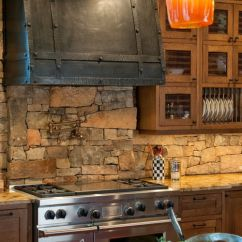 Kitchen Backsplash Ideas On A Budget Cabinets Atlanta 29 Cool Stone And Rock Backsplashes That Wow ...