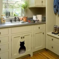 Kitchen Decoration Ideas Cabinets For Sale Craigslist 25 Cool Ways To Hide A Cat Litter Box - Digsdigs