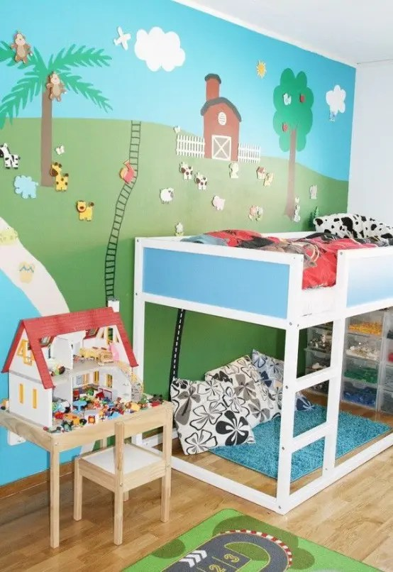 45 Cool IKEA Kura Beds Ideas For Your Kids Rooms  DigsDigs