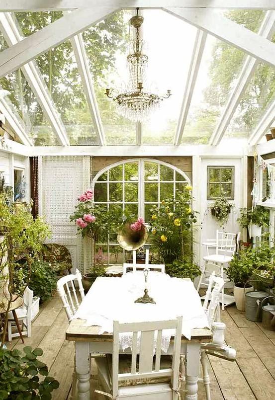 Cottage Style Sunroom