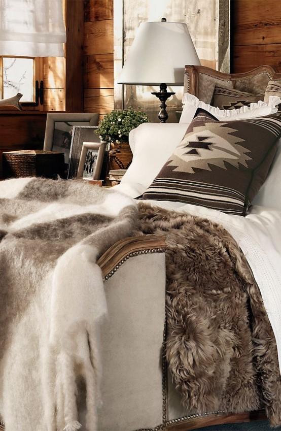 Blue master bedroom, fancy bedroom, room ideas bedroom, master bedroom design, home. 26 Coziest Winter Bedroom Décor Ideas To Get Inspired