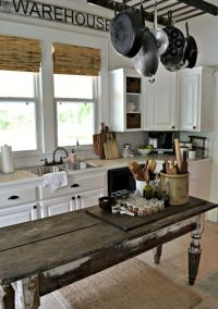 31 Cozy And Chic Farmhouse Kitchen Dcor Ideas | DigsDigs