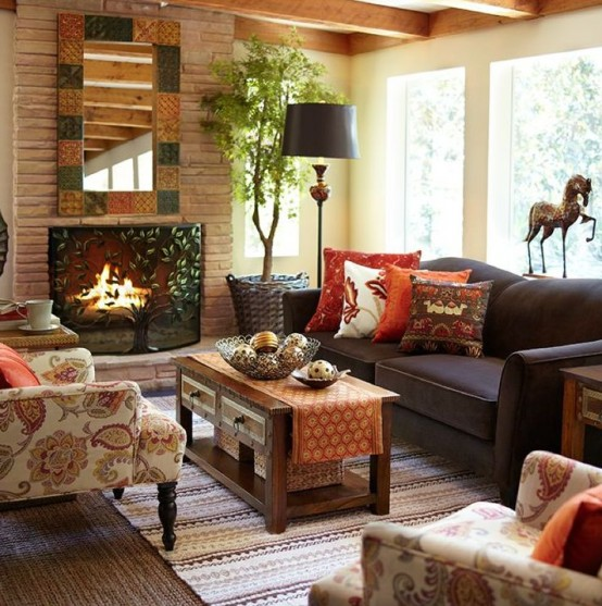 29 Cozy And Inviting Fall Living Room Dcor Ideas  DigsDigs