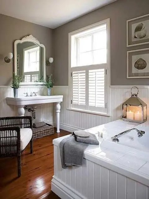 Charlie dean / getty images a bedroom should be a sanctuary—a place of quiet retreat amidst a busy day; 32 Cozy And Relaxing Farmhouse Bathroom Designs - DigsDigs
