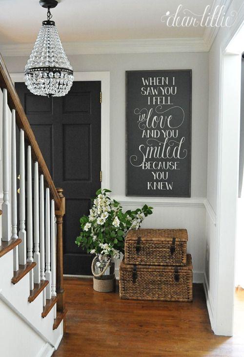 Image Of Entryway Decor Pinterest