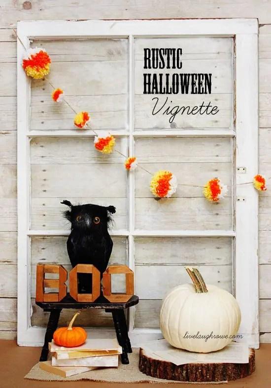 44 Cozy Rustic Halloween Decor Ideas Digsdigs