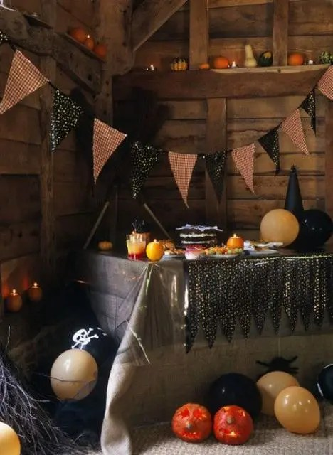 Creepy Fall Wallpaper 44 Cozy Rustic Halloween Decor Ideas Digsdigs