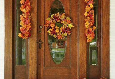 Outdoor Fall Decorating Ideas Pinterest
