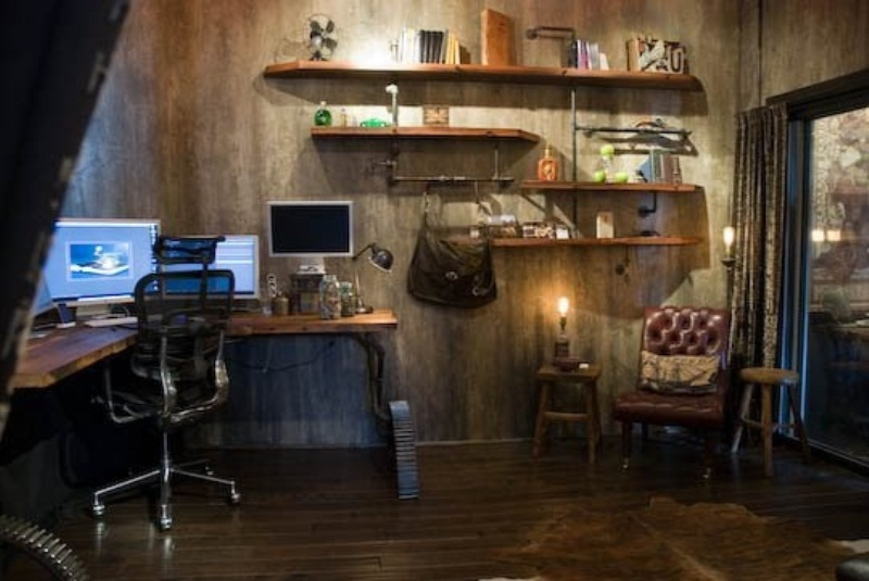 28 Crazy Steampunk Home Office Designs  DigsDigs