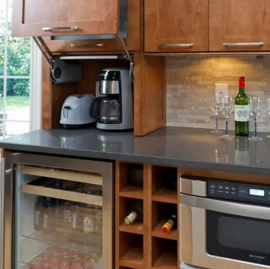 small kitchen solutions ikea wood island 42 creative appliances storage ideas for kitchens ...