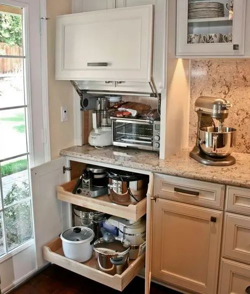 creative ideas for small kitchens