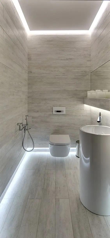 25 Creative Modern Bathroom Lights Ideas You Ll Love