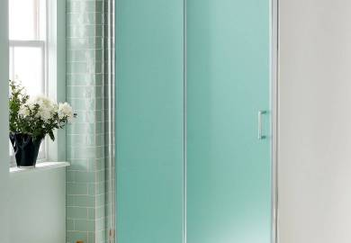 Frosted Shower Glass Doors