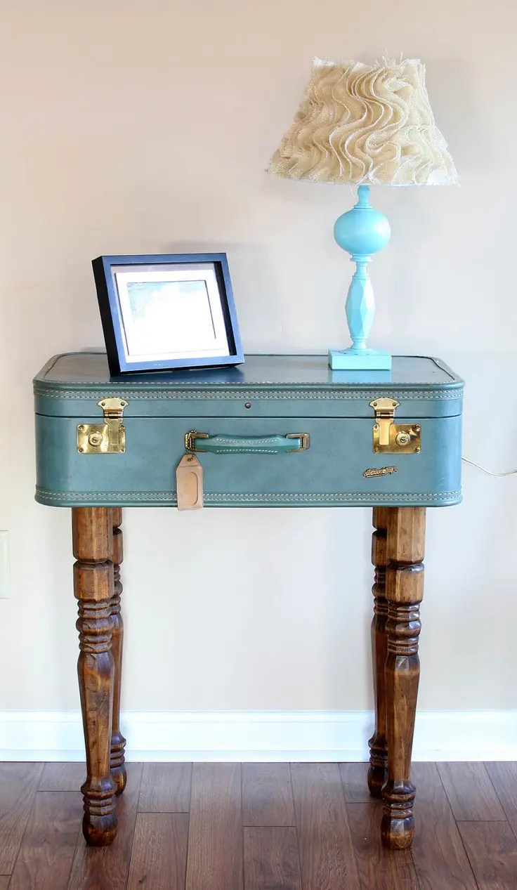 39 Creative Ways Of Reusing Vintage Suitcases For Home