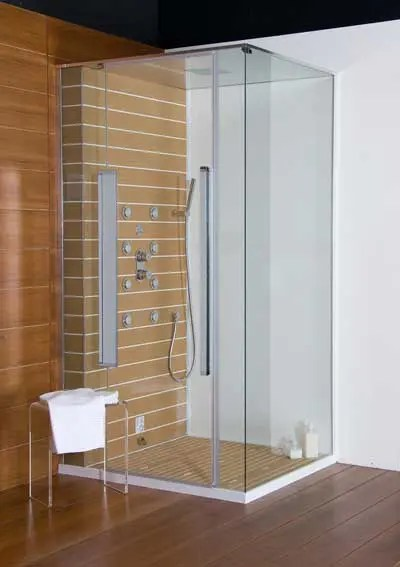 Minimalist Cube Shower Boxes  DigsDigs