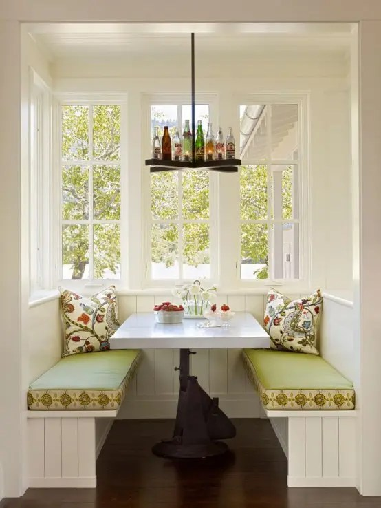 40 Cute And Cozy Breakfast Nook Dcor Ideas  DigsDigs