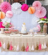 31 Cute Baby Shower Dessert Table Dcor Ideas - DigsDigs