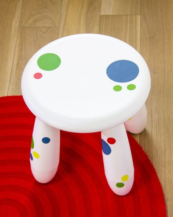 unusual outdoor chairs chair cover rental little rock 25 cute ikea mammut stools ideas for kids' rooms - digsdigs