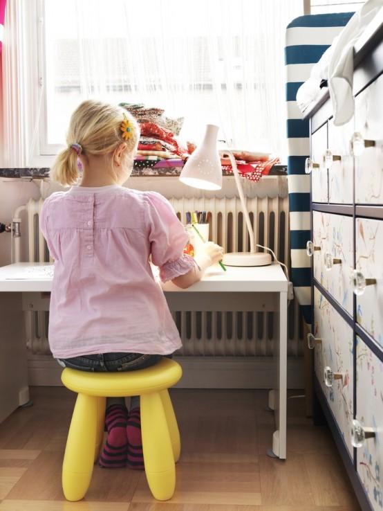 25 Cute IKEA Mammut Stools Ideas For Kids Rooms  DigsDigs