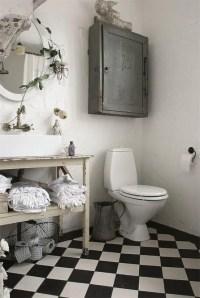 28 Lovely And Inspiring Shabby Chic Bathroom Dcor Ideas ...