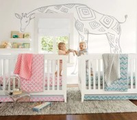 30 Cutest Shared Nurseries For Boys And Girls - DigsDigs