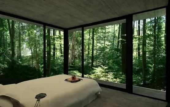 25 Daring Glass Bedroom Design Ideas  DigsDigs