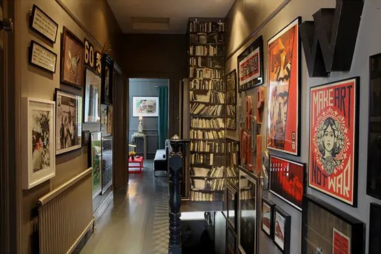Dark And Moody Apartment Interior Design On Budget DigsDigs