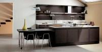 Dark Oak Wood Kitchen Designs - DigsDigs