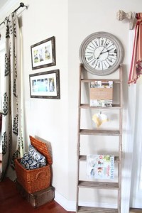 36 Dcor Ideas With Ladders: Vintage Charm With Space ...