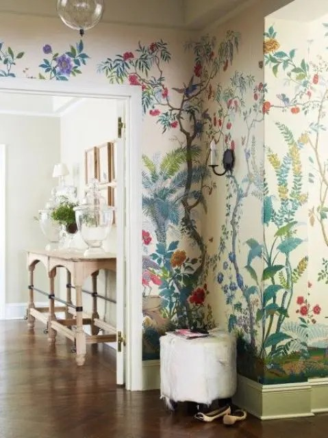 But a bigger question looms — w. Decorating With Botanical Wallpaper: 31 Beautiful Ideas