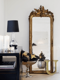 33 Cool Idea To Use Big Golden Mirrors For Your Decor ...