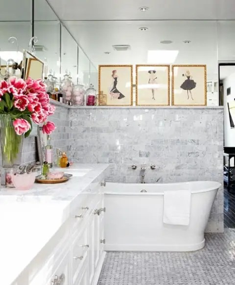70 Delicate Feminine Bathroom Design Ideas Digsdigs