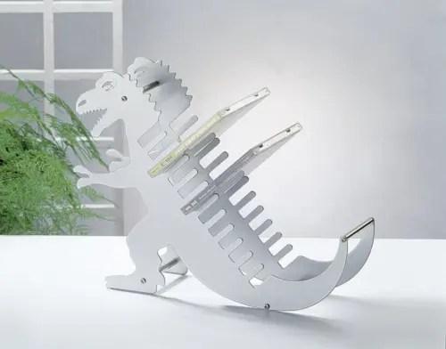 dinosaur cd holder
