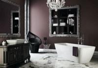 22 Dramatic Gothic Bathroom Designs Ideas - DigsDigs