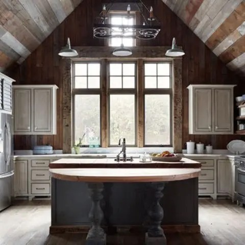 39 Dream Barn Kitchen Designs DigsDigs