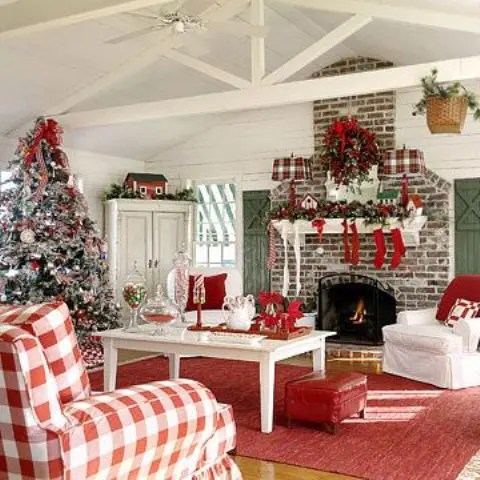 55 Dreamy Christmas Living Room Décor Ideas Digsdigs Part 82