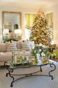 55 Dreamy Christmas Living Room Dcor Ideas - DigsDigs