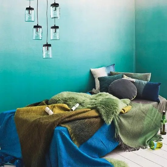 27 Dreamy Ombre Wall D 233 Cor Ideas Digsdigs